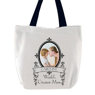 Worlds Greatest Mom Photo Tote Bag