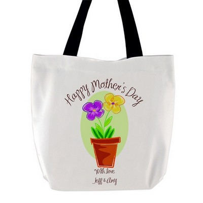 Mothers Day Flowers Tote Bag