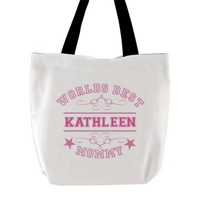 Worlds Best Mommy Tote Bag