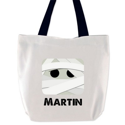 Personalized Mummy Tote Bag