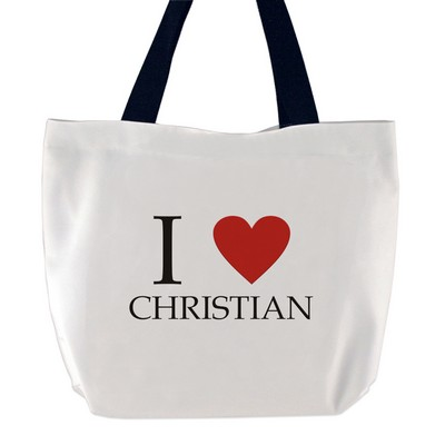 I Love Someone Tote Bag