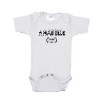 A Star is Born Personalized Baby Bodysuit