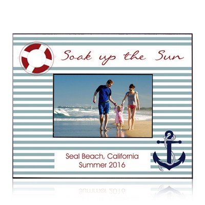 Soak Up the Sun Personalized 8 x 10 Picture Frame