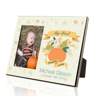My First Pumpkin Patch Photo Frame