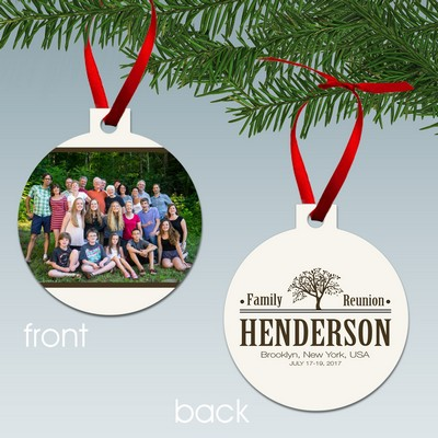 Personalized Christmas Ornaments | Custom Christmas Ornaments