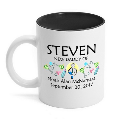 New Daddy Personalized Mug
