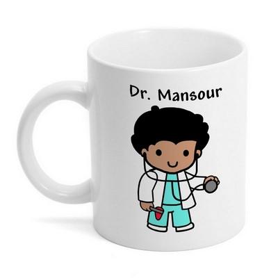 custom character doctor mug