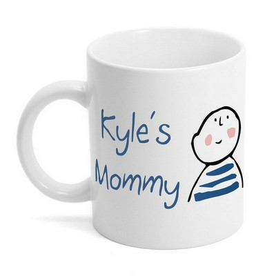 Little Boy Mommy Coffee Mug