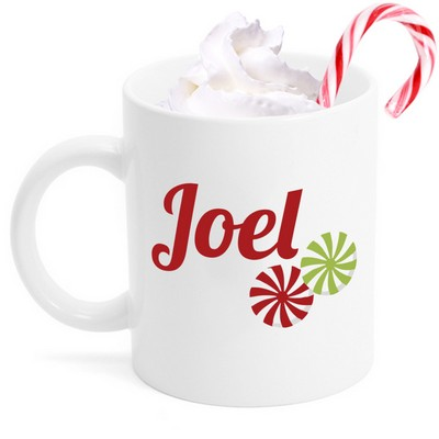 Christmas Candy Personalized Mug