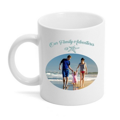 Our Family Adventures Photo Mug