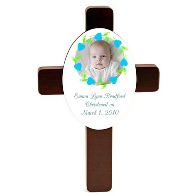 Surrounded by Love Baby Keepsake Cross
