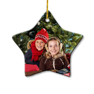 Design Your Own Photo Star Ornament