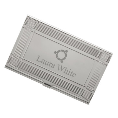 Personalized business card holders pocket business card cases sleek logo business card case colourmoves