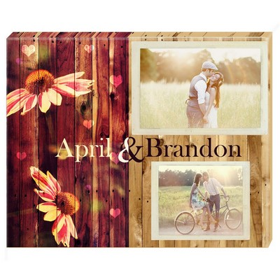Summertime Memories Personalized Photo Wall Canvas