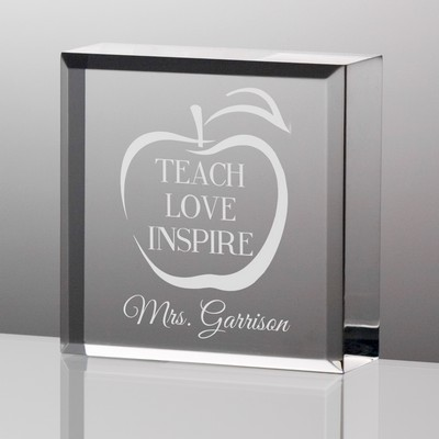 Teach Love Inspire Tiny Keepsake for Teachers