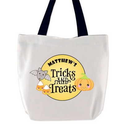 Tricks and Treats Personalized Treat Bag