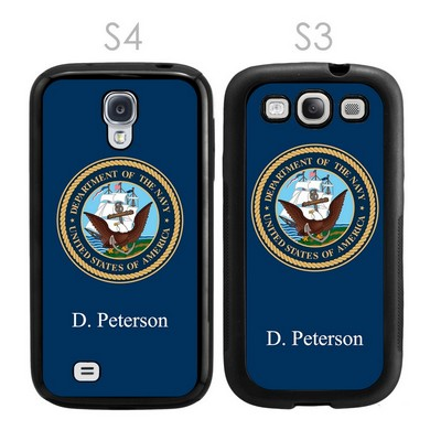 US Navy Personalized Galaxy S3-S4 Case