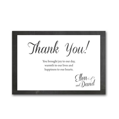 Simply Script 4x6 Wedding Thank You Cards