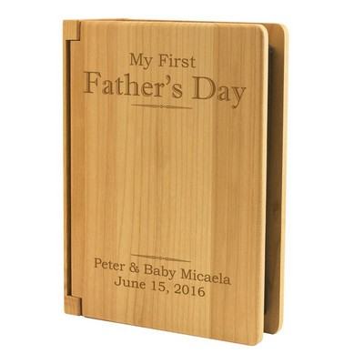 My First Fathers Day Personalized Photo Album