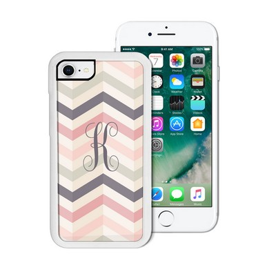 Monogram Chevron Pattern iPhone Case